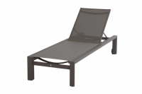 Chaise longue Palace Carbon
