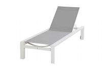 Chaise langue Palace white